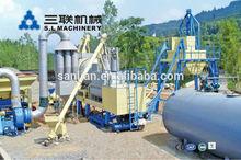 15t/h usine d'asphalte mobile pour la vente, petite usine d'asphalte