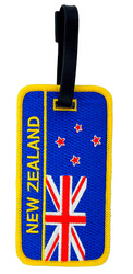Soft pvc luggage tag/Airline luggage tag/name embroidered luggage tag