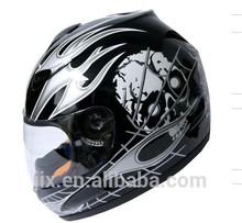 high Quality Motorcycle New custom helmets full face helmet with mask Hot Sale stylish moto Helmets JX-A110