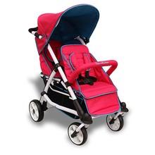 2 passenger baby stroller twin stroller Aluminum