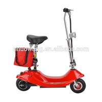 Fashionable lead-acid battery folding mini electric scooter