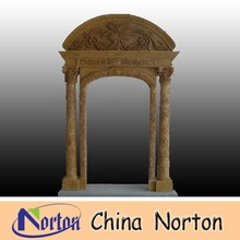 Antique finish marble Door frame NTMF-D037