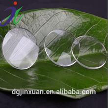 Acrylic Biconvex 25mm acrylic lenses Focus length 45mm