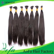 Full cuticle ture lengths tangling free hot sales peruvian human hair for braiding