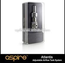 2014 productos más nuevos!!! Genuino aspire atlantis kit de depósito