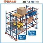 Warehouse storage heavy duty pallet racking system