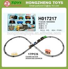 Slot car with light & music, Perfect mini B/O simulation classical train toy, Chenghai Mini orbit car toy H017217
