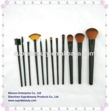 12 pieces synthetic hair makeup brush kit