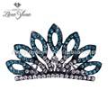 venda quente elegante de noiva do casamento de cristal coroa coroa de noiva para venda