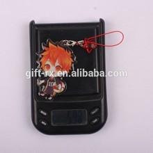 Popular cute Acrylic phone strap, mobile phone charm