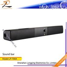 New coming home mini soundbar/sound bar for small tv computer