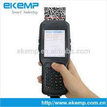 EKEMP all in one industrial handheld PDA phone wifi 3g (X6)