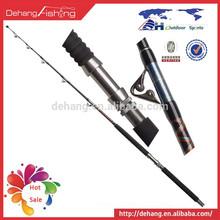 Chinese Manufacturer Jigging Fishing Rod Paint Roller Hollow Fiberglass Rod