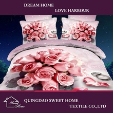 China Products 3d Hotel Branded Bedclothes