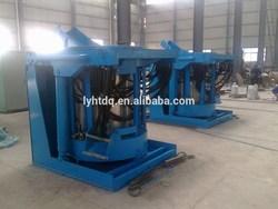 foundry equipment using auto tilting type scrap steel iron melting furnace
