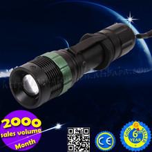 Wholesale Portable Adjustable Focus 700LM High Power Led Torch Light Manufacturers