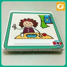 Cartoon Figure on Foam Board