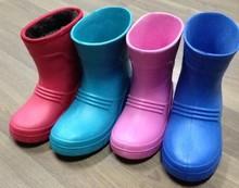 Sexy rain boot children eva boot