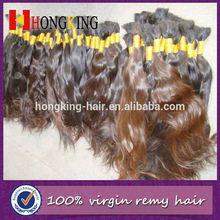 100% Human Wavy Hair Bulk 100% Russian Virgin Hair Bulk Hair