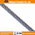 サプライ中国製造、 高品質の良い価格と強いスチールクレーン用ワイヤロープ