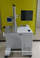 Transparent glass bowl CO2 marking machine , CO2 laser marking clear font