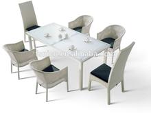 Outdoor chair table set rattan Garden Furniture
