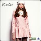 2014-2015 wholesale Fashion latest casual dress designs ladies night dress photo dress for women on stock