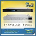 8 Encoder IPTV Headend Solution Equipment
