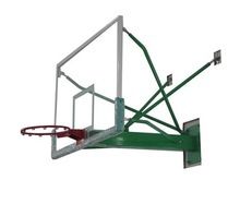 tansparent plastic basketball backboard