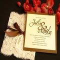 الزفاف الفخمة الفاخرة تصميم طباعة بطاقة دعوة