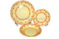 new design handpainted ceramic coated cookware for restaurant; ceramic mug and plate