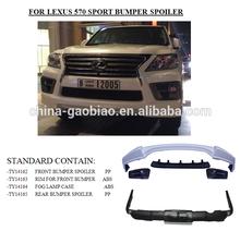 Lexus lx570 (sport) bumper spoiler lx 570 sport body kit
