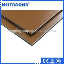 PE/PVDF Coated Metallic Color Alucobond Aluminum Composite Panels Price