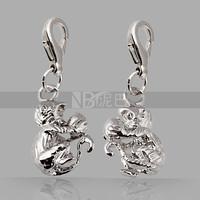 Women's Accessories Silver Animal Naughty Monkey Charm
