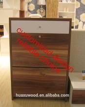 HXDL141119-04 Huaxu Panel Living Room furniture shoe rack design