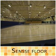 Professional high durability indoor recyceld basketball court flooring