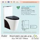 European toilet sanitray,wc toilet black