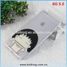 Cartoon Custom OEM For iPhone 6 Case Soft TPU Rubber Gel TPU only 0.6mm