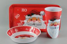 Melamine Tableware Set For Christmas Holiday