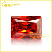 Wuzhou AAA retangular Zircon Gemstone