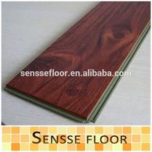 Loose lay durable click lock laminate vinyl wood flooring