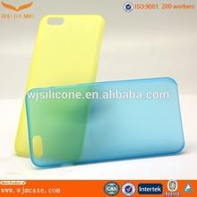 ultra thin slim PP case thin as 0.35mm mirror phone case
