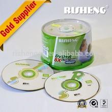 RISENG DVD 8X 4.7GB 120MIN/BLANK MEDIA DVD 8X/Blank DVD 8X