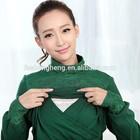 AK192 breathable material high fashion long sleeve nursing /breastfeeding clothes