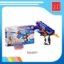 vivid color manually soft bullet gun toy D254977