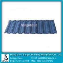 metal sheet roof tile/sun stone coated metal roof tile