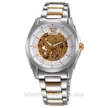 Hot!!Skeleton Japan Movement Automatic Mechanical Watch Men