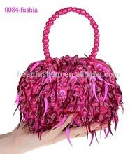 0048-fushia most popular clutch bag cheap price clutch bag for girls