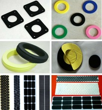 Customized self adhesive silicone thermal dots with back adhesive