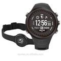 as últimas militar digital gps relógio do esporte com monitor de freqüência cardíaca